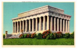 Washington D.C.   Lincoln Memorial