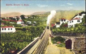 portugal, MADEIRA, Elevador do Monte, Funicular (1920s)