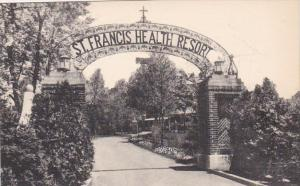 New Jersey Denville Entrance St Francis Health Resort Albertype