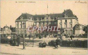 Old Postcard Troyes La Prefecture
