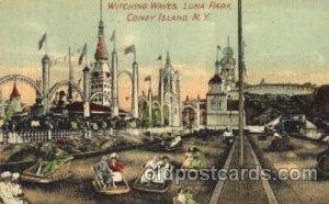 Witching Waves, Luna Park, Coney Island, NY USA Coney Island Amusement Park U...