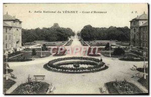 Old Postcard Le Vesinet L & # 39Asile National Court & # 39honneur