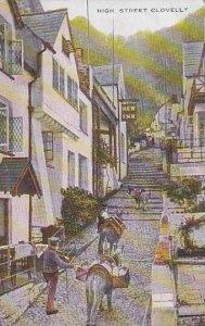 England Clovelly High Street