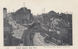 NEW YORK CITY, 1901-07 ; Cooper Square
