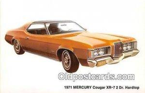 1971 Mercury Cougar XR7 2 Door Hardtop Troy, NY, USA Auto, Car Unused