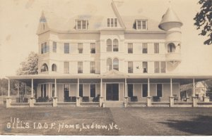 RP: LUDLOW , Vermont , 00-10s ; Gill's I.O.O.F. Home