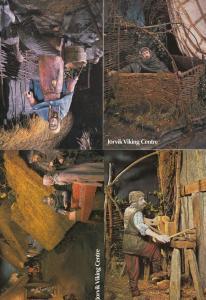Jorvik York Viking Centre Latrine 4x Lattice House Craft 3x Yorkshire Postcard s