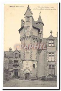 Thouars Postcard Old Hotel from President Tyndo currently primary school girls