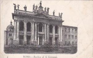 Italy Roma Rome Basilica di San Giovanni
