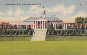 Virginia Winchester The Handley High School 1943