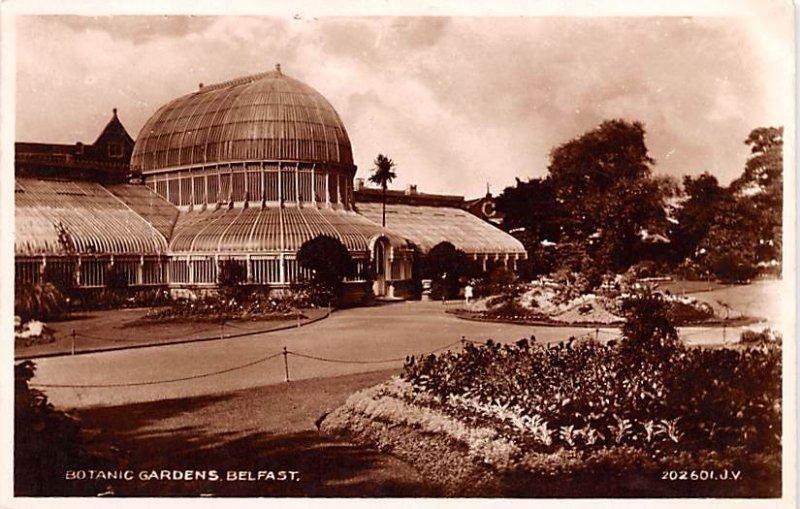 Botanic Gardens Belfast Ireland Unused