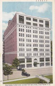 Southern Furniture Exposition Building, HIGH POINT, North Carolina, 1921