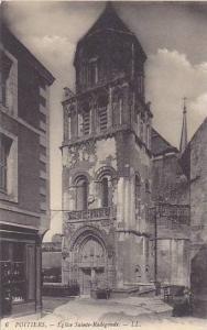 Eglise Sainte-Radegonde, Poitiers (Vienne), France, 1900-1910s