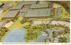 Warwickshire Postcard - Aerial View National Exhibition Centre Birmingham  5486A