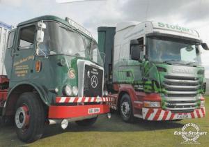 William Stobart Group Logistics Lorry Transport Hand Signed Photo