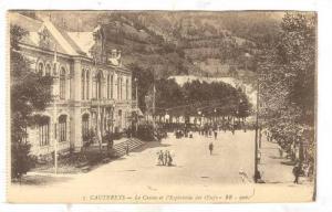 Le Casino et l'Esplanade des Eufs, Cauterets (Hautes-Pyrénées), France, 190...