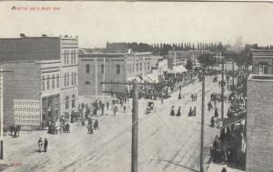 PAYETTE , Idaho , 1909 ; Main Street on a busy day