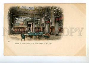 246837 MONACO Monte Carlo Casino Salle Touzet Vintage tinted
