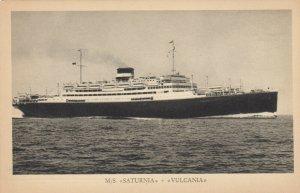 Cosulich Line Trieste Ocean Liner M/SVULCANIA & SATURNIA , 1910-30s