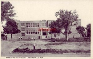 HERNANDO HIGH SCHOOL, BROOKSVILLE, FL