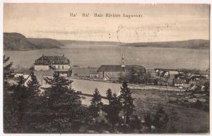 Ha ! Ha ! Baie Riviere Saguenay Que