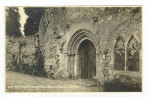 RP; Refactroy Doorway & Lawn Basins, Beaulieu Abbey, Hampshire, England, Unit...