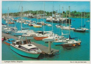 Hampshire; Lymington Harbour 2DH 116 PPC By Hinde, Unused, c 1980's, Note Ferry
