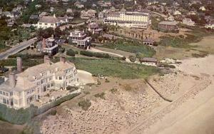 RI - Watch Hill, Aerial, Holiday House and Ocean House