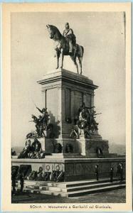 Italy - Rome,  Monument of Garibaldi sul Gianicolo