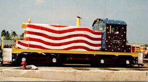 Port Of Palm Beach Locomotive Star-Spangled Switcher