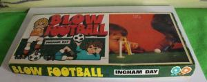 BLOW FOOTBALL VINTAGE INGHAM DAY BOXED 1960/70'S