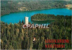 Postcard Modern Aulanko Suomi Finland National Park