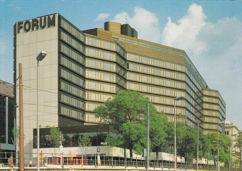BUDAPEST, Hungary; Forum Hotel, 50-70s