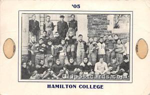 Hamilton College Unused