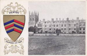 Meron College, founded AD 1264, Oxford, Ofordshire, England, United Kingdom, ...