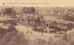 Le Pavillon Chinois, Panorama Pris De La Tour Japonaise, Bruxelles-Laeken, Be...