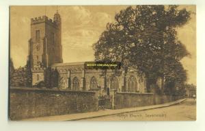 cu1047 - Parish Church , Sevenoaks , Kent - postcard