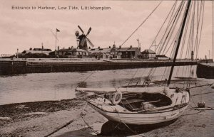LITTLEMAPTON , Sussex , England , 1900-10s ; Low Tide