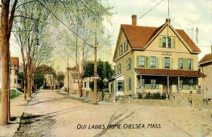 MA - Chelsea. Old Ladies Homes