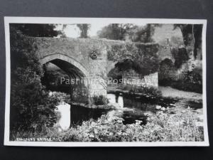 Devon CHAGFORD BRIDGE - Old RP Postcard by Chapman & Son 102