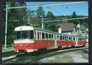 Colour PC  Slovakia Electric Train 1999 unused