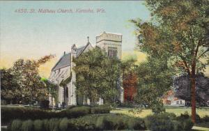 KENOSHA, Wisconsin, 1900-1910's; St. Matheus Church