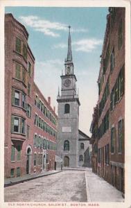 Massachusetts Boston Old North Church Salem Street