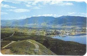 View of Penticton, British Columbia, Canada, Chrome