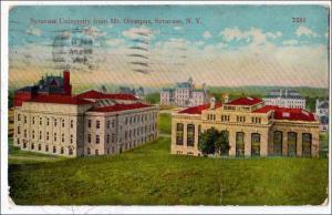 Syracuse University, Syracuse NY
