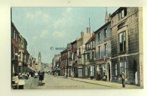h0267 - High Street , Newport , Isle of Wight - postcard