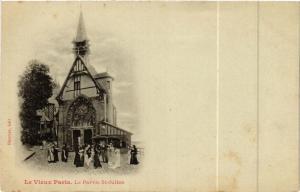 CPA PARIS EXPO 1900 - Le Vieux Paris Le Parvis St Julien (307036)