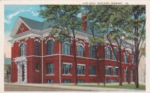Vermont Rutland City Hall