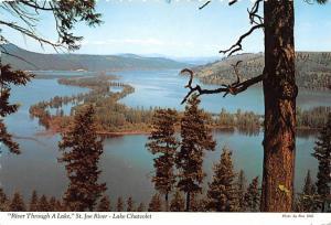 St Joe River - Lake Chatcolet, Idaho