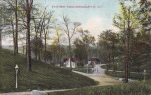 INDIANAPOLIS, Indiana, PU-1908; Fairview Park